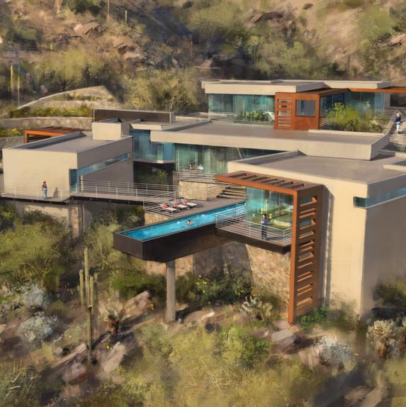 Cholla Heights Residence | Scottsdale, AZ (designed at PHX Architecture)