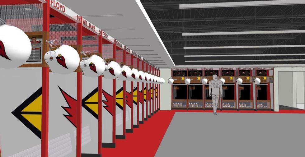Arizona Cardinals Training Facility (designed at SmithgroupJJR)