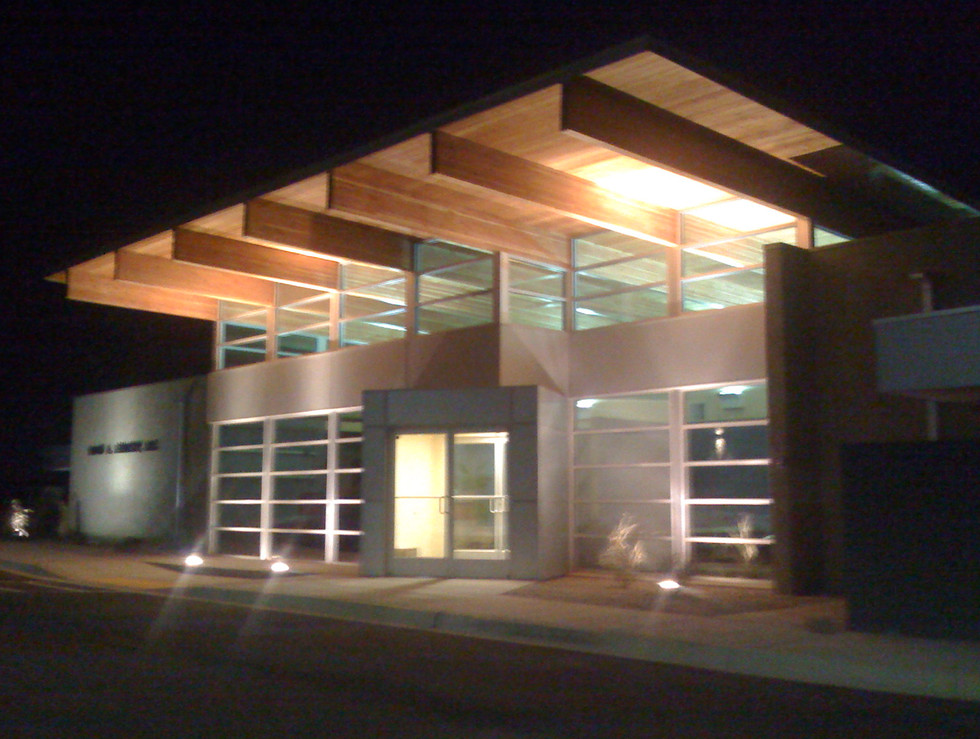 Dr. Bernitsky Eye Center - Albuquerque, NM (designed at the Hartman + Majewski Design group)