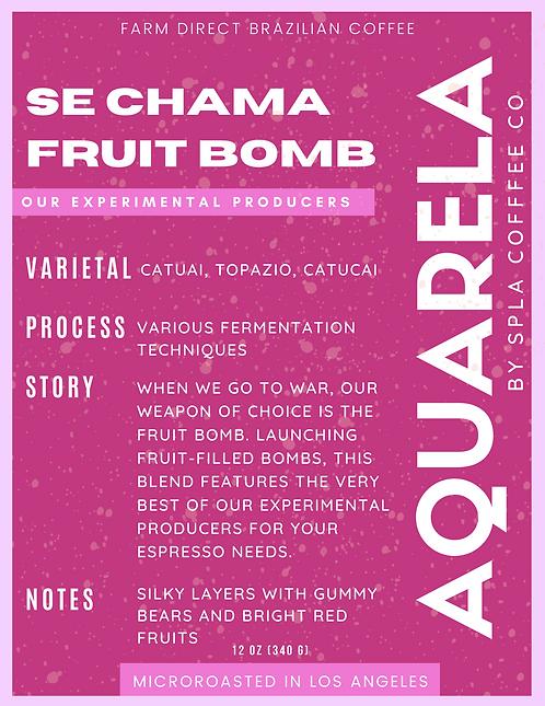 "Se Chama ""Fruit Bomb"" - Experimental Producers Blend"
