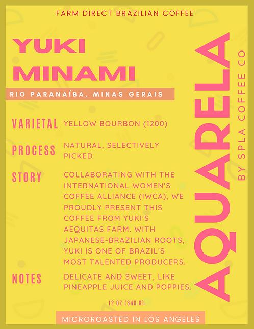 Yuki Minami, Rio Paranaíba - Minas Gerais