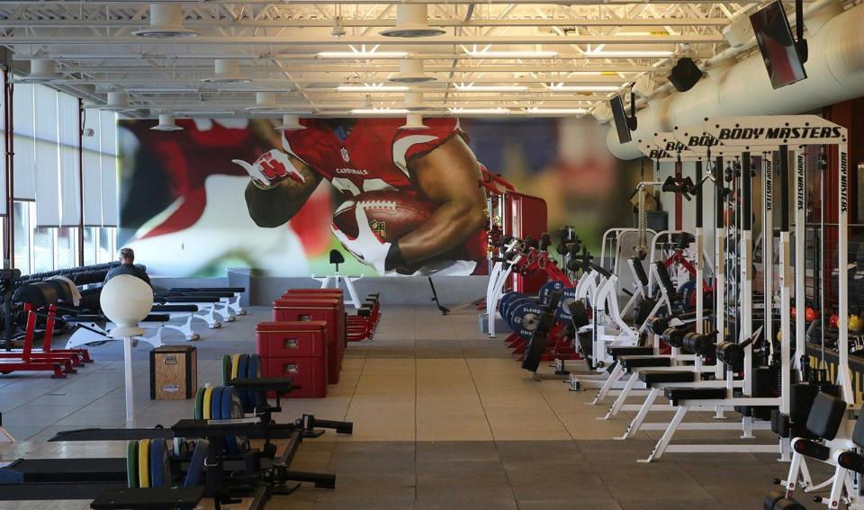 Arizona Cardinals Training Facility - Tempe, AZ (designed at SmithgroupJJR)