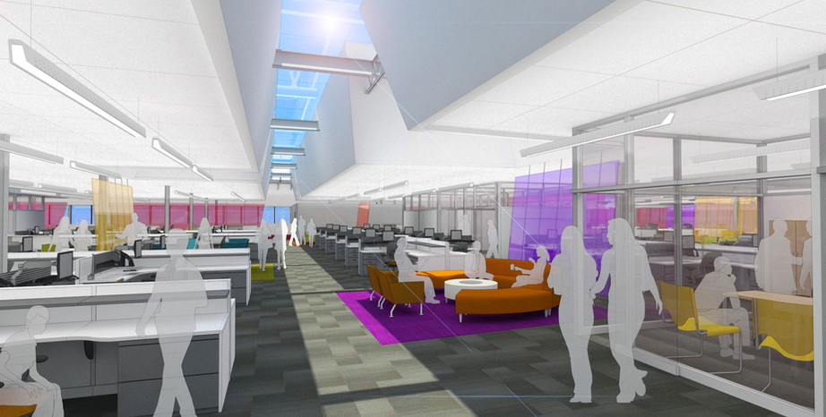 Meritor Headquarters (designed at SmithgroupJJR)