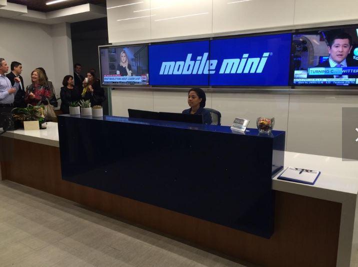Mobile Mini Headquarters - Tempe, AZ (designed at SmithgroupJJR)