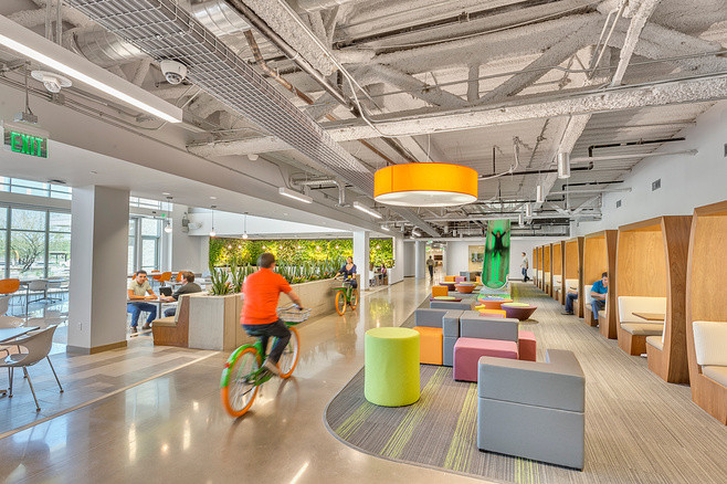 GoDaddy Global technology Center - Tempe, AZ (designed at SmithgroupJJR)