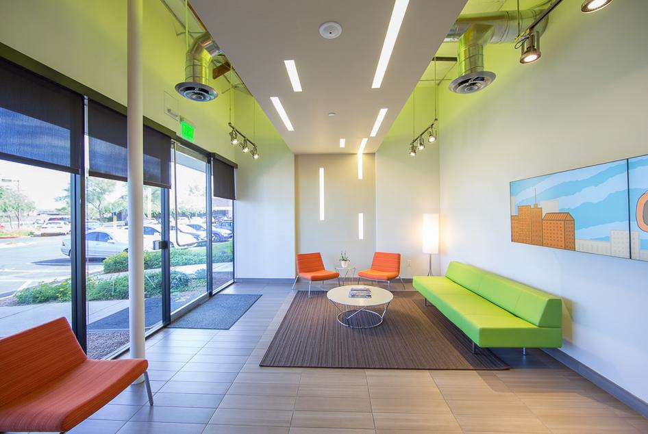 Go Daddy Corporate Executive Lobby - Scottsdale, AZ (designed at SmithgourpJJR)