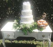 Wedding Cake Fresh Floral & Greenery Garland.jpg