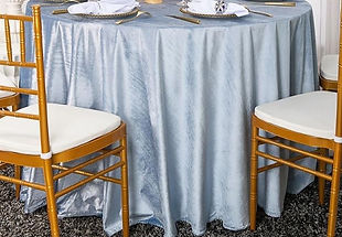 Dusty Blue Table Cloth
