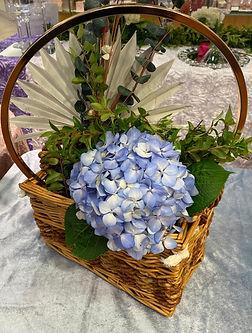 BOHO Fresh Hydrangea Centerpiece.jpg