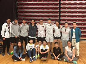 17.18 BLACK KNIGHT Badminton Ontario Jr HP A Championships – Markham Pan Am Centre