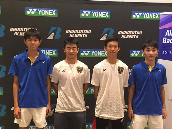 Won 7 medals in 2017 Yonex Alberta Junior Elite