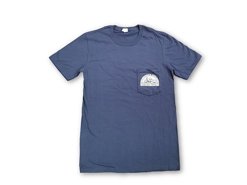 Brown's Cycle Short Sleeve Pocket T - Blue