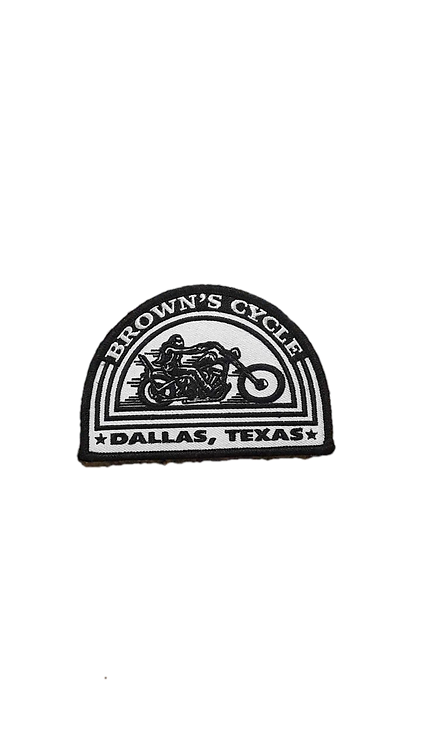 White Brown's Cycle Patch