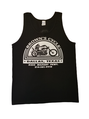 Brown' Cycle Logo Tank