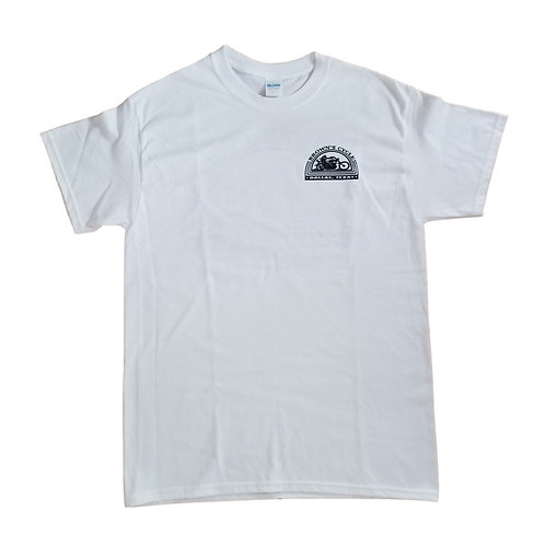 Brown's Cycle Short Sleeve T-Shirt - White