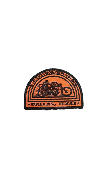 Orange Brown's Cycle Patch