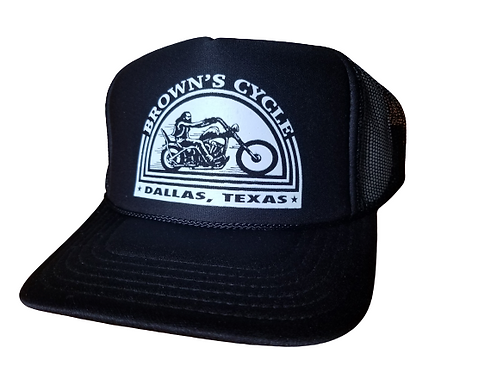 Brown's Cycle Screen Printed Hat