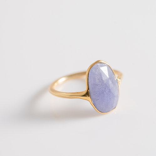 Amethyst Ice Gem - 18ct Plated Gold