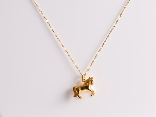 Gold Pony -18ct Gold Plated - Charity Piece