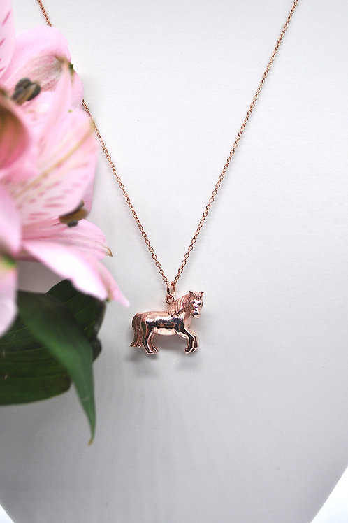 Rose Gold Pony - 18ct Rose Gold - Charity Piece