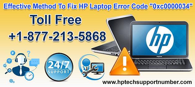 """Fix HP Laptop Error Code """"0xc0000034"""" With Effective Method"""