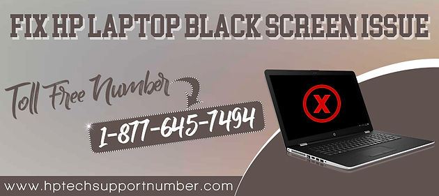 How To Fix HP Laptop Black Screen Issue?