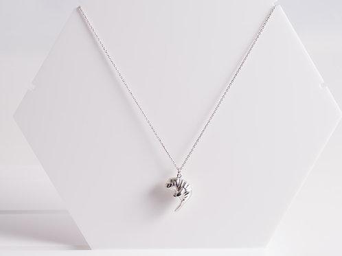 Rhodium Mini Manatee - Rhodium Plated - Charity Piece