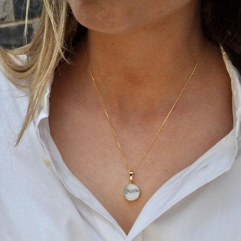 Marble Jasper Charm Necklace