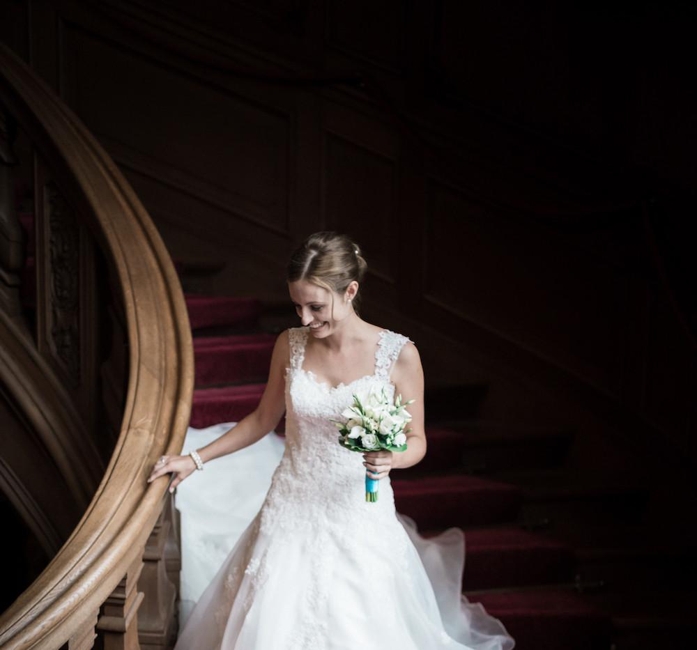 Auftritt der Braut im Foyer