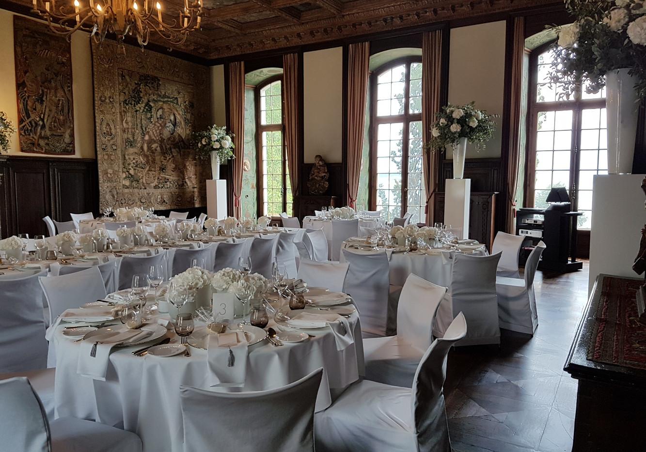 Hochzeitsdinner Rittersaal