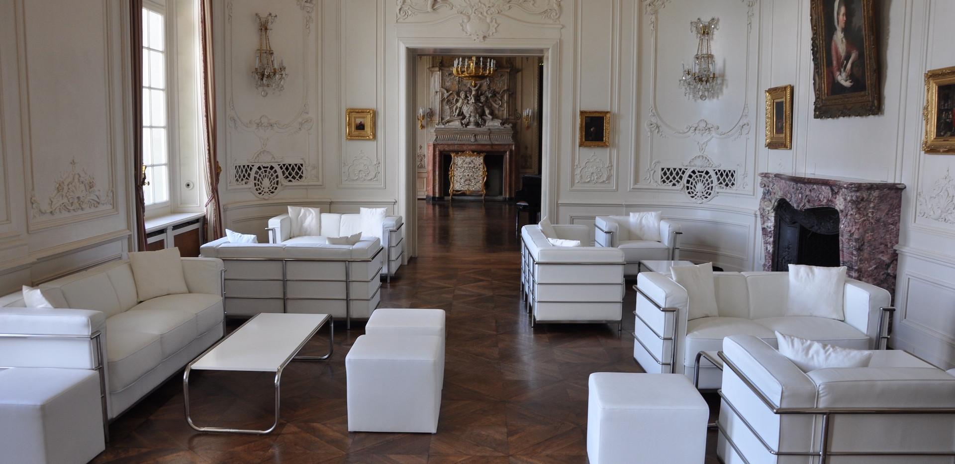 Wienersaal mit Lounge