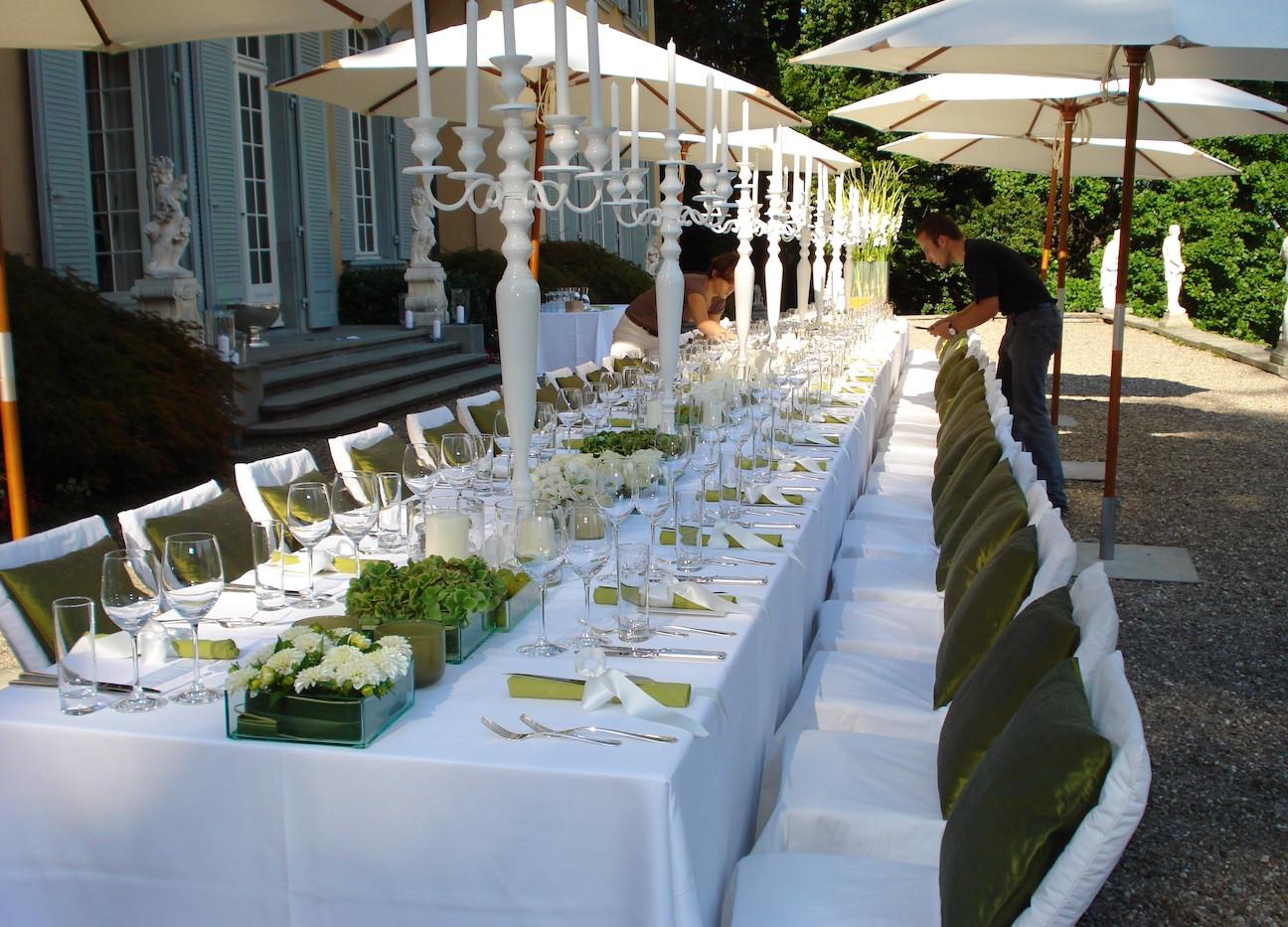 Dinner Terrasse