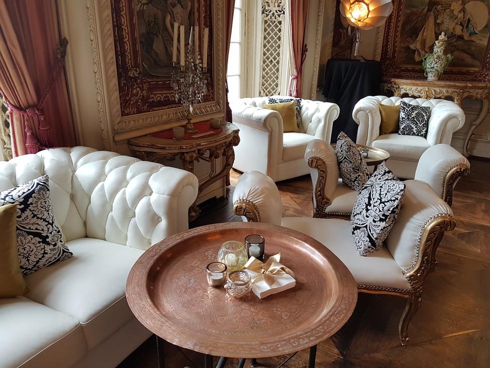 Gobelinzimmer mit Lounge
