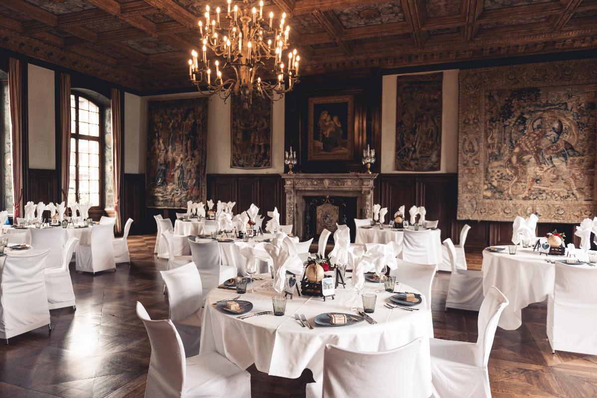 Dinner Rittersaal