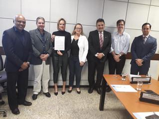 Fortelecimento dos CBHs foi pauta da reunião entre a coordenação do FNCBH e ANA