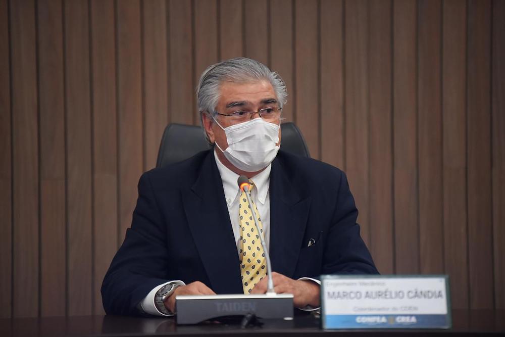 Coordenador do Colégio de Entidades Nacionais (Cden), eng. mec. Marco Aurélio Braga