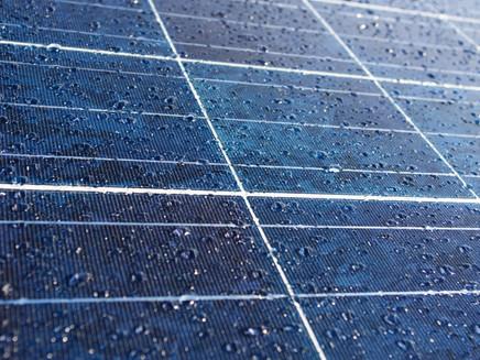 Chineses criam painel solar que gera energia a partir da chuva