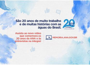 ANA lança vídeo em celebração aos seus 20 anos