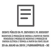 Debate público da PL 3924/2012 e PL 6903/2017