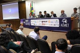 Defesa Civil SC participa do I Encontro de Meteorologia, em Florianópolis