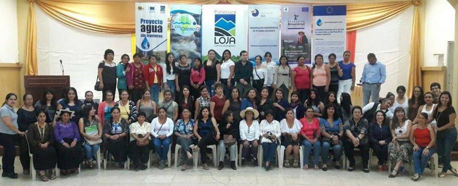 SENAGUA - Ecuador: Mujeres de Ecuador y Perú, marcaron hitos históricos por el Agua y la Vida