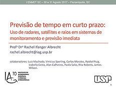 MINI-CURSO 2 Sistemas Meteorológicos Intensos que atingem Santa Catarina  Ernani de Lima Nascimento - UFSM