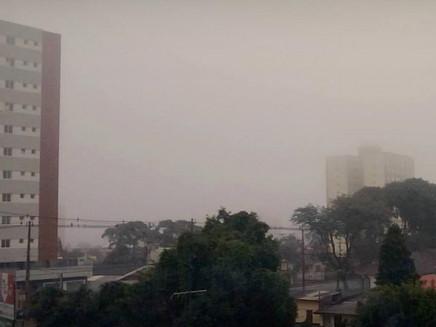 Novo recorde de frio em Curitiba