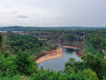 Cataratas do Iguaçu registram menor fluxo devido à seca