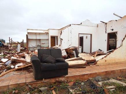 Tornado atingiu São Miguel das Missões, afirma meteorologista