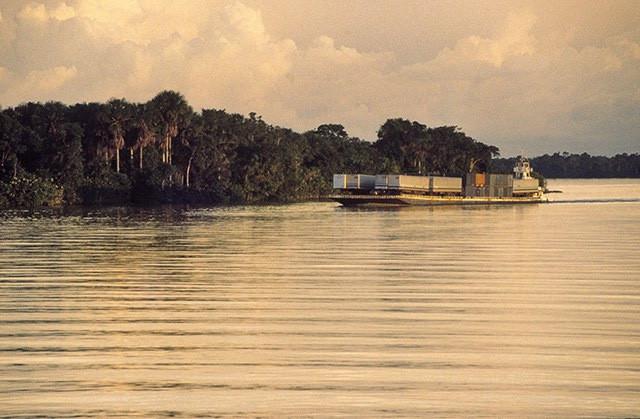 Rio Amazonas (PA) - Foto: Rui Faquini / Banco de Imagens ANA