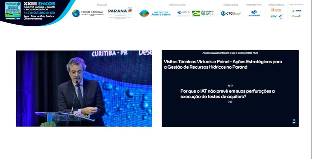 Everton Luiz da Costa Souza - Presidente do Instituto Água e Terra e CBH Paranapanema