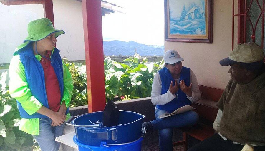 Cuenca Verde : Capacitaciones en Buenas Prácticas Agrícolas y Ambientales