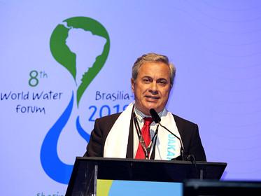Lupercio Ziroldo Antonio apresenta os resultados do Processo Cidadão no encerramento do 8º Fórum Mun