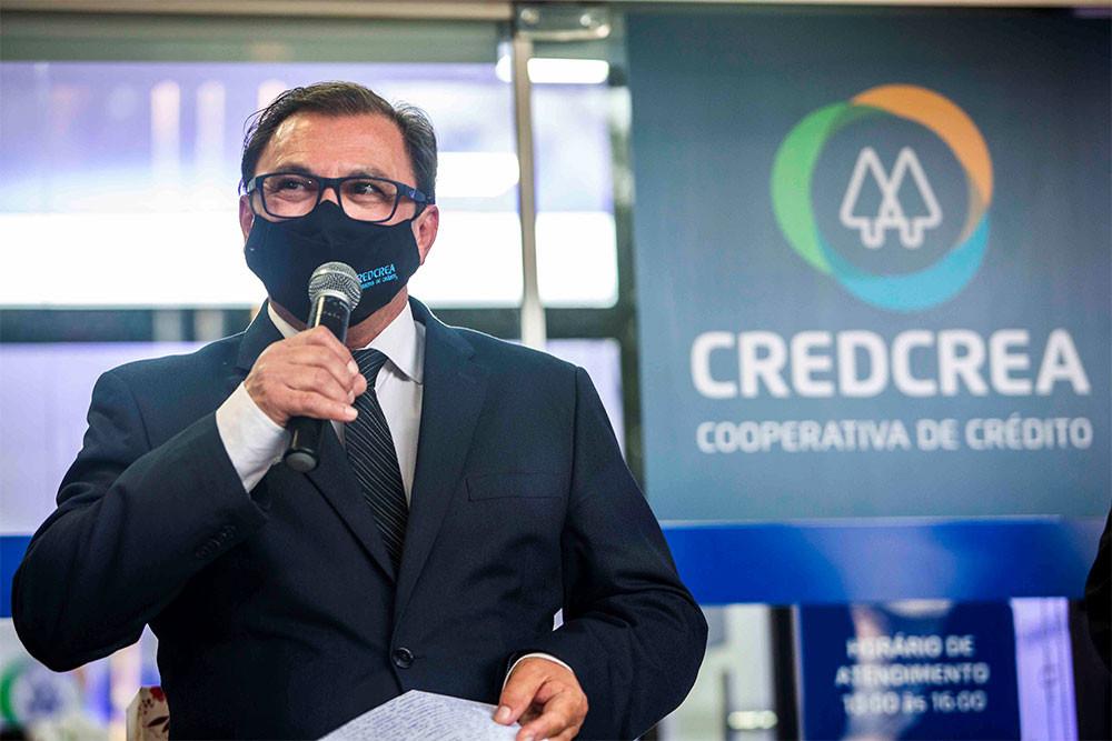 Vice-presidente da CredCrea, Eng. José Wilson.